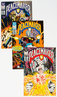 DC Modern Age Long Box Group (DC, 1980s-90s) Condition: Average FN