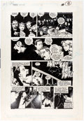 Original Comic Art:Panel Pages, Kyle Baker The Shadow Annual #2 Story Page 16 Original Art (DC, 1988)....