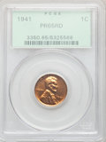 Proof Lincoln Cents: , 1941 1C PR65 Red PCGS. PCGS Population: (716/291). NGC Census: (323/138). CDN: $130 Whsle. Bid for problem-free NGC/PCGS PR...