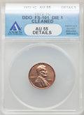 Lincoln Cents, 1972 1C Doubled Die Obverse, FS-101, -- Cleaned -- ANACS. AU55 Details. Mintage 75,000. ...