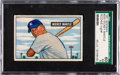 Baseball Cards:Singles (1950-1959), 1951 Bowman Mickey Mantle #253 SGC 60 EX 5.  In th...