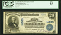 National Bank Notes:Virginia, Saltville, VA - $20 1902 Plain Back Fr. 658 The...