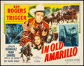 "Movie Posters:Western, In Old Amarillo (Republic, 1951). Rolled, Fine+. Half Sheet (22"" X 28"") Style A. Western.. ..."