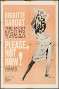 "Movie Posters:Foreign, Please, Not Now! (International Classics, 1963). Folded, Fine/VeryFine. One Sheet (27"" X 41""). Foreign.. ..."