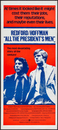 "Movie Posters:Drama, All the President's Men (Warner Brothers, 1976). Folded, VeryFine+. Australian Daybill (13.25"" X 30""). Drama.. ..."
