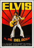 "Movie Posters:Elvis Presley, Elvis (PAC, 1979). Folded, Very Fine. Italian 2 - Fogli (39.25"" X 55"") Luca Crovato Artwork. Elvis Presley.. ..."