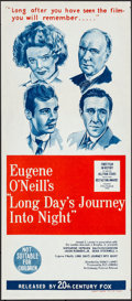 "Movie Posters:Drama, Long Day's Journey into Night (20th Century Fox, 1964). Folded, Near Mint. Australian Daybill (13.5"" X 30""). Drama.. ..."