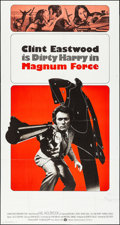 """Movie Posters:Action, Magnum Force (Warner Brothers, 1973). Folded, Very Fine-.International Three Sheet (41"""" X 77""""). Action.. ..."""