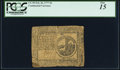 Continental Currency February 26, 1777 $2 PCGS Fine 15