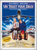 """Movie Posters:Comedy, Planes, Trains and Automobiles (Paramount, 1987). Folded, Very Fine+. French Grande (47.5"""" X 63""""). Comedy.. ..."""