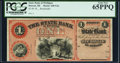 Obsoletes By State:Michigan, Detroit, MI- State Bank of Michigan $1 18__ Remainder PCGS Gem New 65PPQ.. ...
