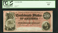 Confederate Notes:1864 Issues, T64 $500 1864 PF-3 Cr. 489B PCGS Choice New 63.. ...