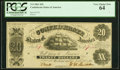 Confederate Notes:1861 Issues, T9 $20 1861 PF-13 Cr. 32 PCGS Very Choice New 64.. ...