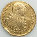 Colombia, Colombia: Charles IV gold 8 Escudos 1798 P-JF VF (scratches, edgebump),...