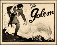 "The Golem (Paramount, 1920). Near Mint-. CGC Graded Title Lobby Card (11"" X 14"")"