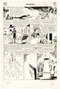 Original Comic Art:Panel Pages, Gil Kane and Murphy Anderson Showcase #36 Atom Story Page 4 Original Art (DC, 1962)....