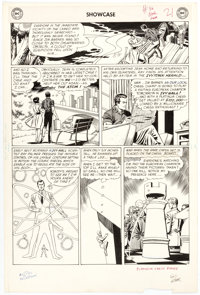 Gil Kane and Murphy Anderson Showcase #36 Atom Story Page 4 Original Art (DC, 1962)