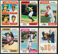 Baseball Cards:Sets, 1974 Topps Baseball Complete Set (660) With Traded Set (44) - Featuring Dave Winfield Rookie. ...