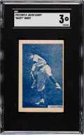 Baseball Cards:Singles (1930-1939), 1933 Uncle Jacks Candy Dazzy Vance SGC VG 3. ...