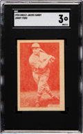 Baseball Cards:Singles (1930-1939), 1933 Uncle Jacks Candy Jimmy Foxx SGC VG 3. ...