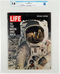 "Explorers:Space Exploration, Special Edition LIFE Magazine ""To the Moon and Back"", Dated August 11, 1969, Directly From The Armstrong Family Co..."