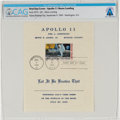 "Explorers:Space Exploration, Apollo 11: ""First Man On The Moon"" First Day Cover Directly From The Armstrong Family Collection™, CAG Certified...."