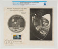 Explorers:Space Exploration, Philatelia: The Eagle Has Landed First Day Canceled Souvenir Card Directly From The Armstrong Family Collection™, CAG Certifie...