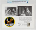 Explorers:Space Exploration, Philatelia: Nixon with Apollo 11 Astronauts First Day Canceled Souvenir Card Directly From The Armstrong Family Collection™, C...