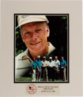 Explorers:Space Exploration, Neil Armstrong Pro-Celebrity Phillips Charity Classic Photograph Directly From The Armstrong Family Collection™, CAG Certified...