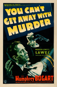 "You Can't Get Away with Murder (Warner Brothers - First National, 1939). Fine on Linen. One Sheet (27"" X 40.75""..."