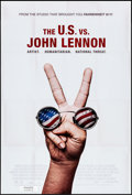 "Movie Posters:Documentary, The U.S. vs. John Lennon (Lions Gate, 2006). Rolled, Very Fine-. One Sheet (27"" X 41"") DS. Documentary.. ..."