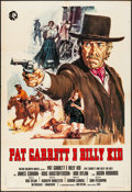 "Movie Posters:Western, Pat Garrett and Billy the Kid (MGM, 1973). Folded, Very Fine-.Italian 2 - Fogli (39.25"" X 55"") Averardo Ciriello Artwork. W..."