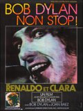 """Movie Posters:Musical, Renaldo and Clara (Shelltrie, 1979). Folded, Very Fine+. FrenchGrande (45.75"""" X 61.25""""). Musical.. ..."""