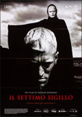 "Movie Posters:Foreign, The Seventh Seal (Cineteca Bologna, R-2018). Folded, Very Fine. Italian 2 - Fogli (39.25"" X 55""). Foreign.. ..."