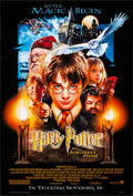 "Movie Posters:Fantasy, Harry Potter and the Sorcerer's Stone (Warner Brothers, 2001).Rolled, Very Fine+. One Sheet (27"" X 40"") SS Advance. Drew St..."