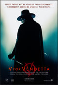"Movie Posters:Action, V for Vendetta (Warner Brothers, 2005). Rolled, Very Fine-. OneSheet (27"" X 40"") DS, Teaser Style. Action.. ..."