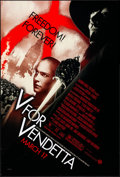 "Movie Posters:Action, V for Vendetta (Warner Brothers, 2005). Rolled, Very Fine+. OneSheet (27"" X 40"") SS Advance. Action.. ..."
