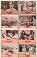 """Movie Posters:James Bond, Dr. No/From Russia with Love Combo (United Artists, R-1965). VeryFine-. Lobby Card Set of 8 (11"""" X 14""""). James Bond.. ... (Total: 8Items)"""