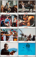 """Movie Posters:James Bond, Never Say Never Again (Warner Brothers, 1983). Very Fine/Near Mint.Lobby Card Set of 8 (11"""" X 14""""). James Bond.. ... (Total: 8 Items)"""