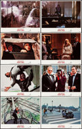 "Movie Posters:James Bond, A View to a Kill (United Artists, 1985). Near Mint. Lobby Card Set of 8 (11"" X 14""). James Bond.. ... (Total: 8 Items)"