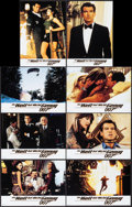 """Movie Posters:James Bond, The World is Not Enough (MGM, 1999). Very Fine/Near Mint. GermanLobby Card Set of 8 (11.75"""" X 8.5""""). James Bond.. ... (Total: 8Items)"""
