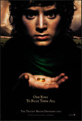 "Movie Posters:Fantasy, The Lord of the Rings: The Fellowship of the Ring (New Line, 2001).Rolled, Very Fine. One Sheet (27"" X 40"") SS, Teaser. Fan..."