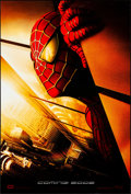 """Movie Posters:Action, Spider-Man (Columbia, 2002). Rolled, Very Fine+. International One Sheet (26.75"""" X 39.75"""") DS Advance, Twin Towers Style. Ac..."""