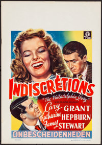 """The Philadelphia Story (MGM, 1947). Rolled, Very Fine-. First Release Belgian (16.25"""" X 23.5""""). Comedy"""