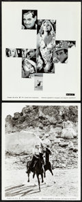 """Movie Posters:Drama, The Misfits & Other Lot (United Artists, 1961). Very Fine. Photos (2) (8"""" X 10"""") & Magazine (Multiple Pages, 4.25"""" X 5.75"""")...."""