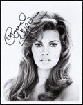 "Movie Posters:Miscellaneous, Raquel Welch (c. 1970s). Very Fine. Autographed Photo (8"" X 10).Miscellaneous.. ..."