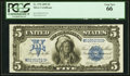 Large Size:Silver Certificates, Fr. 278 $5 1899 Silver Certificate PCGS Gem New 66.. ...