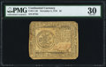 Continental Currency November 2, 1776 $5 PMG Very Fine 30