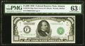 Small Size:Federal Reserve Notes, Fr. 2210-F $1,000 1928 Federal Reserve Note. PMG Choice Uncirculated 63 EPQ.. ...