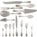 Silver & Vertu, A One Hundred and Twenty-Three Piece Wallace Grand Baroque Pattern Silver Flatware Service, Wallingford, Connect... (Total: 127 Items)